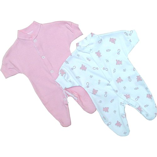 Amazon Premature Early Baby Girls Clothes 3 Piece Set