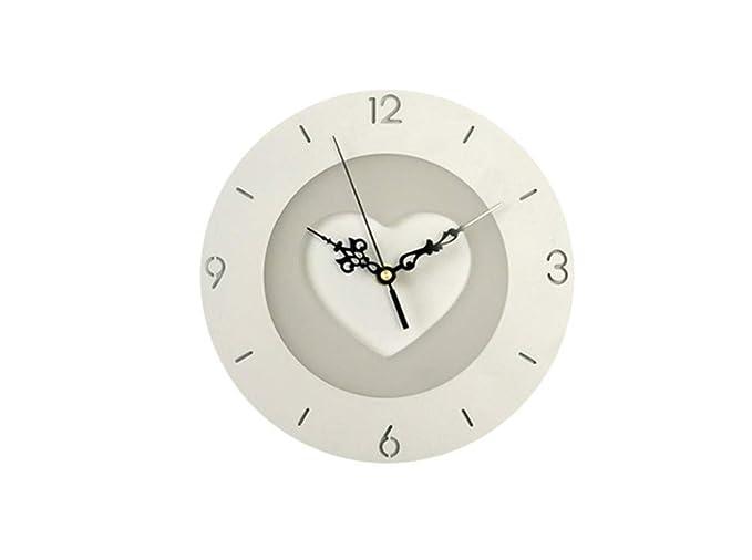 Lampade da parete creativo orologio moderno minimalista applique