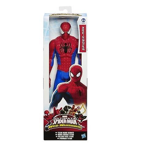 Hasbro Spiderman , Rosso, 9 UK / 27 EU Youth