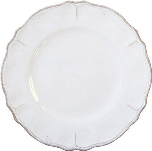 Le Cadeaux Rustica Antique White Melamine Dinner Plate - Set of 4 ()