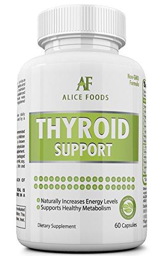 Meilleur supplément de soutien thyroïde iode + Guide «Troubles de la thyroïde» - ingrédients naturels de première qualité - améliore les niveaux d'énergie et métabolisme - Pack de 60 Capsules - parfait pour les hommes et les femmes