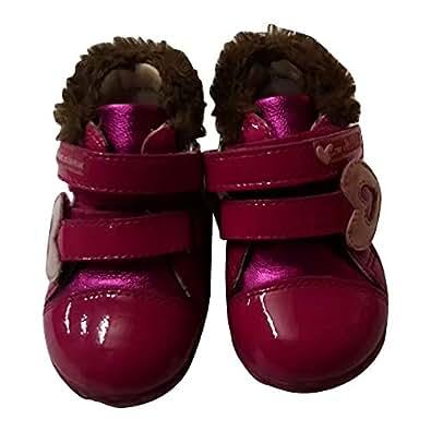 Agatha Prada Shoe For Kids (Size 18) [Red]