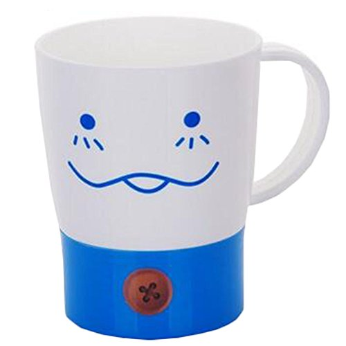 Creative Couple Milk Cup Breakfast Cup Mug Cup Coffee Cup Blue