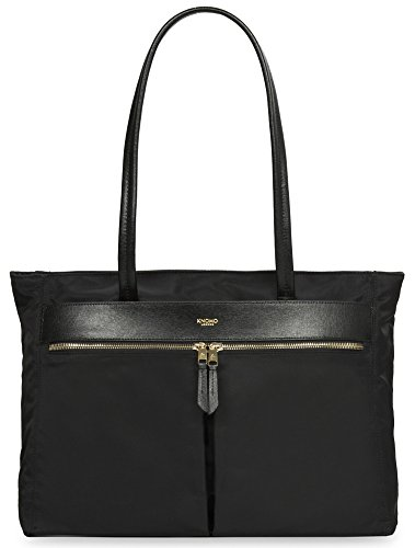 Knomo Luggage Mayfair Nylon Grosvenor E W Top Zip Tote, Black, One Size by Knomo
