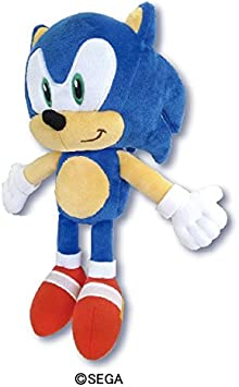 Amazon Com Sonic The Hedgehog Plush S Collector Plush Sk Japan 10 6 X 4 5 X 5 7 Office Products