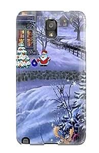 XiFu*Mei[dtyEcEx1426cKZcx]premium Phone Case For Galaxy Note 3/ Christmas Paradise Screensaver 2 Tpu Case CoverXiFu*Mei
