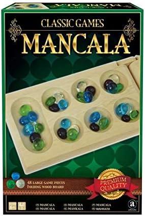 Merchant Ambassador ST010 Deluxe Wood Mancala in Gift Box