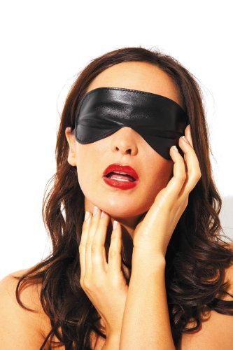 Leather Blindfold - Sexy Wear and Lingerie