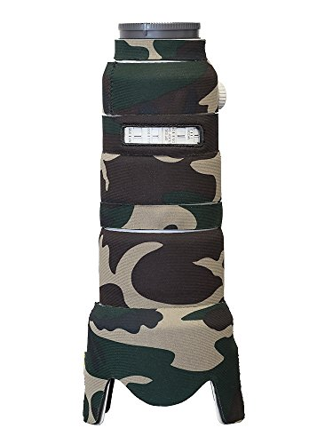 LensCoat Camera Cover Sony 70-200mm f/2.8 GM OSS, camouflage neoprene camera lens protection sleeve (Forest Green Camo) lenscoat by LensCoat