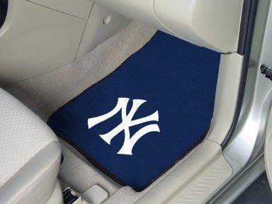 Fan Mats New York Yankees Utility Mat 2-pc Carpet Car Mat Set/17