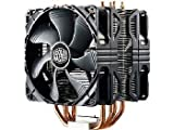 cooler master 212 hyper - Cooler Master Hyper 212X CPU Cooler with dual 120mm PWM Fan Model RR-212X-20PM-A1