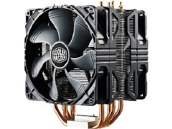 Cooler Master Hyper 212X CPU Cooler with Dual 120mm PWM Fan Model RR-212X-20PM-A1 (Best Air Coolers For I7 6700k)