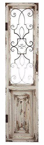 A&B Home Chalet Fleura Door Panel Wall Décor by A&B Home