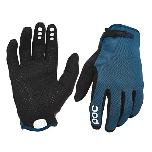 POC Resistance Enduro Adjustable Glove, Mountain Biking Gloves, Draconis Blue, LRG (Best Mtb Enduro Gloves)
