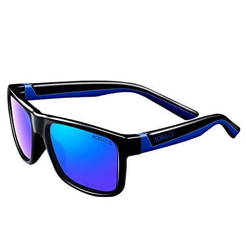 ACBLUCE TPEE Kids Sport Polarized Sunglasses/Blue Light Blocking Glasses for Boys Girls Age 6-12