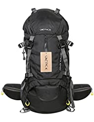 ONEPACK 70L(65+5)Hiking Backpack Waterproof Backpack Outdoor Sport Daypack with Rain Cover for Climbing Mountaineering...