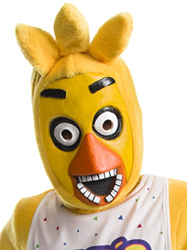 Rubie's Costume Boys Five Nights at Freddy's Chica The Chicken 3/4 Mask Costume, One Size]()