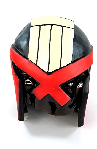 Judge Dredd Helmet 2012 Props Movie Adult Costume ()