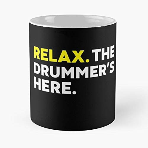 Drum Drummer Percussion Instrument Conga - 11 Oz Coffee Mugs Unique Ceramic Novelty Cup, The Best Gift For Holidays.