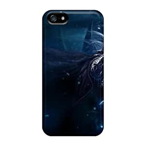 New Premium Luoxunmobile333 World Of Warcraft The Wrath Of The Lich King Skin Cases Covers Excellent Fitted For Iphone 5/5s