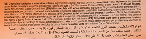 Tirma Chocolate con Leche y con Almendras Enteras - 2 Paquetes de 5 Unidades x 150 gr: Amazon.es: Alimentación y bebidas