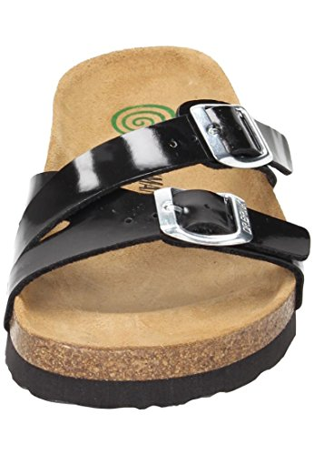amp; Mules Womens Dr Clogs Brinkmann Black Dr Brinkmann Synthetic n7RYWC7