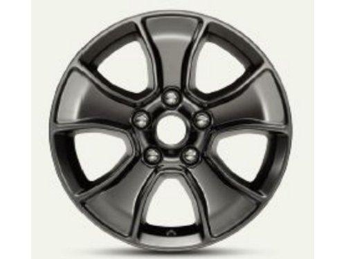 77072470 17 Inch Wrangler Satin Black Wheel