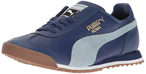 PUMA Men#039s Roma OG 80S Fashion Sneaker Twilight Blue Fog 115 M US