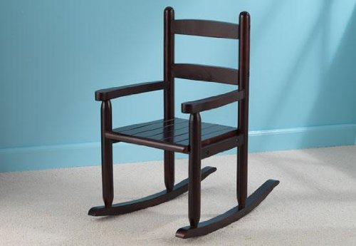 KidKraft 2-Slat Rocker - Cherry   - Rocking Chair Slat Rocker 2