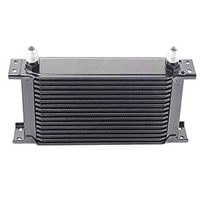 16 Row 10 An Aluminum Racing Oil Cooler - Universal