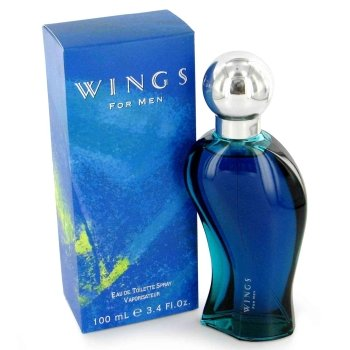 Giorgio Beverly Hills Wings Eau de Toilette Spray, 3.4 Fluid Ounce