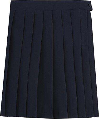 Uniform Navy Pleated Skirt - 1