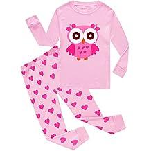 Christmas Girls Boys Pajamas Cotton Kids Pjs Toddler Sleepwear Pant Set