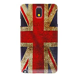 Retro the Union Jack Painting Pattern Hard Back Case Cover for Samsung Galaxy Note3
