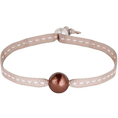 Perles Une Sur Perle De Philippine Sellier Bracelet Beige Nacre hQdsrt