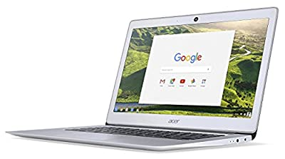 2016 Newest Acer 14 Inch FHD Premium Flagship Chromebook (IPS 1920x1080 Display, Intel Celeron Quad-Core N3160 Processor up to 2.24GHz, 4GB RAM, 32GB SSD, Wifi, Chrome OS) (Certified Refurbished)