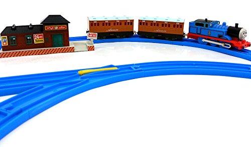 Brigamo 553 Elektrische Eisenbahn Zug Set Mit Thomas Lokomotive