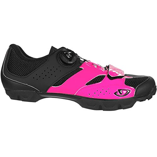 Giro Cylinder Cycling Shoes - Women's Bright Pink/Black 40
