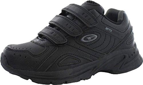 Nuevo Hi-Tec xt-115Jnr zapatos Running y entrenamiento deportivo infantil de entrenamiento negro, negro, 3