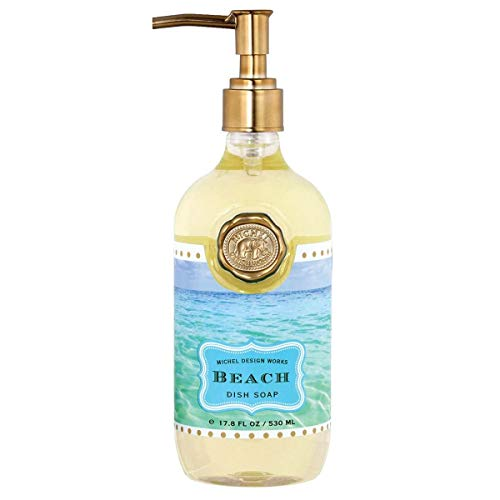 (Michel Design Works Scented Dish Soap, 17.8-Ounce, Beach )