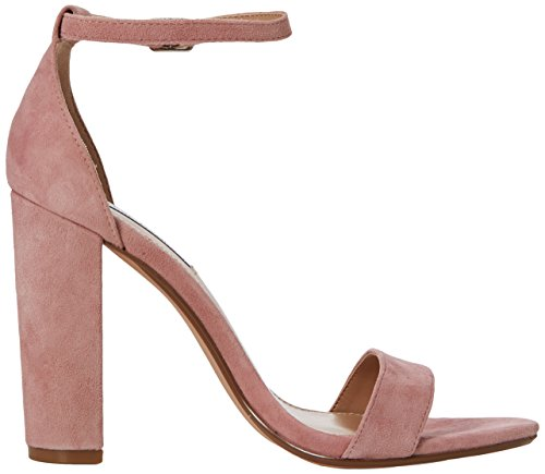 Pink Rose Madden Carrson Mauve Sandals Ankle Strap Women's Steve nYqBUF00