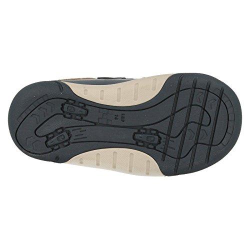 Clarks Jungen außerschulischen lilfolkcub Pre Leder Schuhe in Marineblau