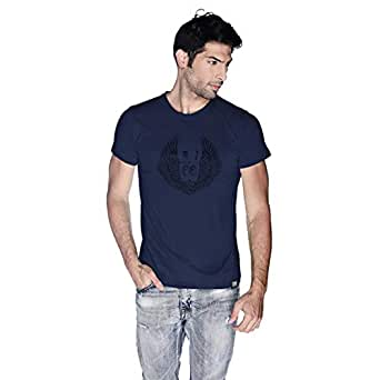 Creo Al Ain Route T-Shirt For Men - L, Navy Blue