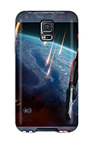 Hot Mass Effect 3 Girl First Grade Tpu Phone Case For Galaxy S5 Case Cover