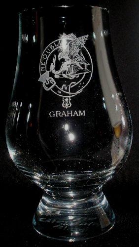 CLAN GRAHAM GLENCAIRN SINGLE MALT SCOTCH WHISKY TASTING GLASS