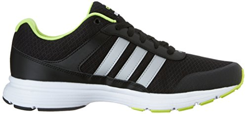 new style 63dac cb01c Amazon.com  adidas NEO Mens Cloudfoam VS City Shoes, BlackMetallic  SilverYellow, 12 M US  Soccer