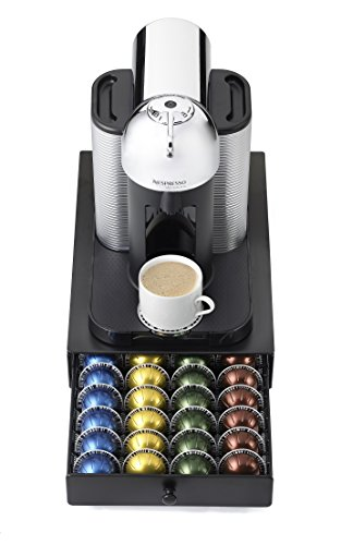 NIFTY 6145 Nespresso Vertuoline Capsule Drawer for Coffee Machines, Black