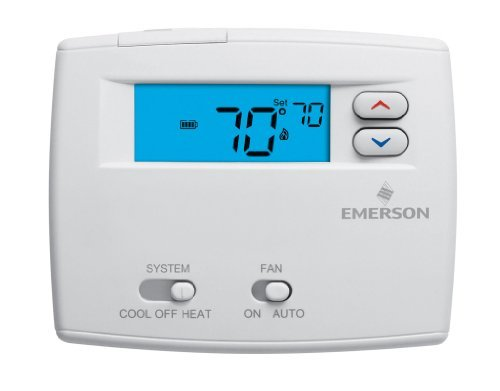 White Rodgers 1F86-0244 Programmable Digital Thermostat, 2