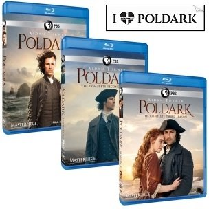 Masterpiece: Poldark Complete Seasons 1-3 Plus Bonus Sticker by