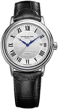Raymond Weil Maestro Silver Dial Roman Numeral Mens Watch